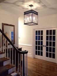 JS 2X interior light copper lantern kitchen and foyer lighting