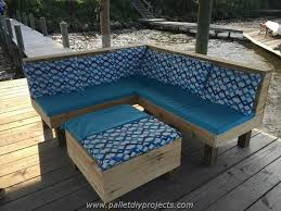 Pallet Patio Furniture Plans by Patio Furniture Made Out Of Pallets Image 4646943 By