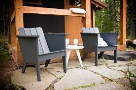 Plastic Furniture Patio Polyethylene Modern Deck Chair For ...