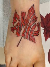 My Canadian Family Tattoo On Foot Ouch