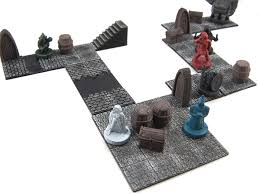 modular dungeon tiles core set by dutchmogul thingiverse