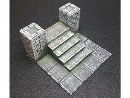 3d Printed Dungeon Tiles by 3d Printable Tiles Dungeons U0026 Dragons Castle Ravenloft Board