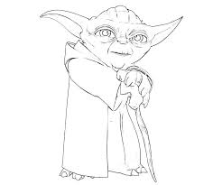 Elegant Yoda Coloring Pages 30 In Online With