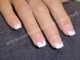 deco ongle gel deco ongles blanche