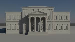 Neoclassical House Neoclassical House Design By Christopher Brown At Coroflot