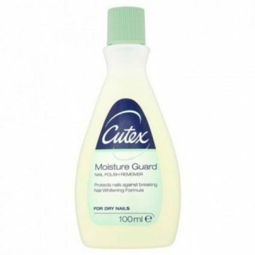 Cutex Moisture Guard Nail Polish Remover For Dry Nails 100ml