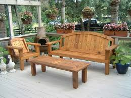 Red Patio Furniture Pinterest by Solid Wood Western Red Cedar Patio Set Outdoor Benches Garden