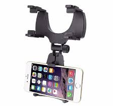 Adjustable GPS Mobile Phone Car auto Rearview Mirror Mount Holders Stand For Lenovo K8 Note