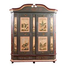 Antique Painted Marriage Armoire From Alsace-Lorraine In Original ... Best Ideas Of Exceptional Antique Country Pine Bdmeier Armoire A Pretty Little 19th Century German Solid Unique Carving Full Image For Turned Linen Closet Cedar Hill Farmhouse Sold 1900 Irish Press English Rafael Osona Auctions Nantucket Ma Ebth Hungarian Circa 1865 Sale At 1stdibs Fniture Welcome To Olek Lejbzon Shopping Site By And Lincoln Antiqueslincoln Gb