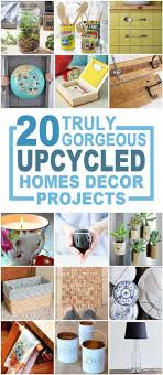 20 Truly Gorgeous Upcycled Home Décor Items You Can Make