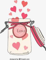 coeur de en pot bouteille de coeur de téléchargement gratuit l amour pot
