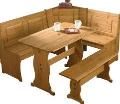 kitchen corner table with storage bench regard to photo on