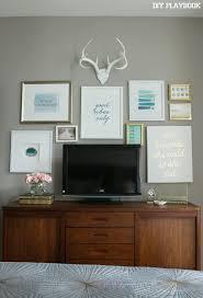 Maggies Bedroom REVEAL Tv Wall DecorTv