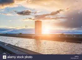 100 Water Bridge Germany Magdeburg Across River ElbeHavel Canal