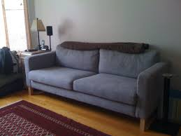 Karlstad Sofa Leg Hack by Furniture Comfortable Large Sofas Design Ideas With Karlstad Sofa