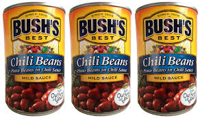 Amazon Bushs Best Chili Beans Pinto In Mild Sauce 3 Pack Each Can Is 16 Ounces For A Total Of 48 Grocery Gourmet Food