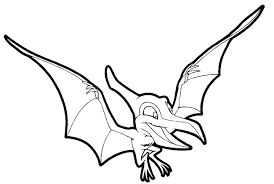 Dinosaur Coloring Pages 8