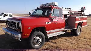100 1985 Dodge Truck W350 Custom Fire Truck Item K3059 SOLD March