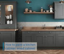 Painting Wood Kitchen Cabinets Ideas How To Paint A Kitchen Cabinet Wood Cabinet Bathroom Ideas