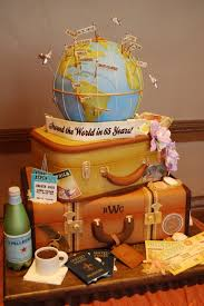 Adventures In Cake Decorating by Best 25 Travel Cake Ideas On Pinterest Map Cake Bon Voyage