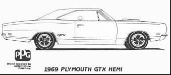 Fantastic Plymouth Car Coloring Pages With Hot Rod And Pictures