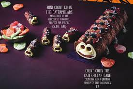 2 Other Names For Halloween by Marks U0026 Spencer Launch A Creepy Colin The Caterpillar For