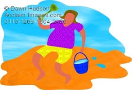 Bucket And Spade Clipart Stock Photography