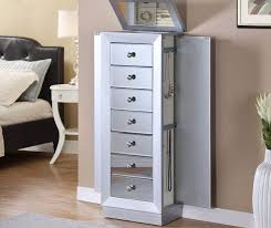 Mirrored Jewelry Box Armoire by Best 25 Mirror Jewelry Armoire Ideas On Pinterest Diy Jewelry