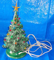 Atlantic Mold Ceramic Christmas Tree Lights by Vintage Ceramic Christmas Tree With Lights