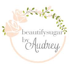 Logo Design For BeautifySugar By Audrey Feminine Vintage