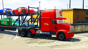 100 Lightning Mcqueen Truck SPIDERMAN DISNEY CARS McQueen Mack Transportation