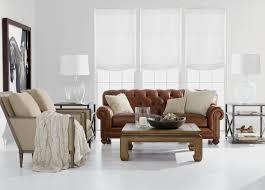 Ethan Allen Bennett Sofa by Chadwick Leather Sofa Sofas U0026 Loveseats