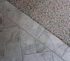 ceramic tile carpet transition carpet