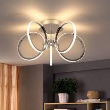 zmh led deckenleuchte 37w 47cm 3000k warmweiß licht innen beleuchtung für schlafzimmer arbeitszimmer büro kaufen otto