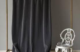 Dkny Modern Velvet Curtain Panels by Velvet Navy Curtain Panel Cb2 With Regard To Velvet Curtain Panels