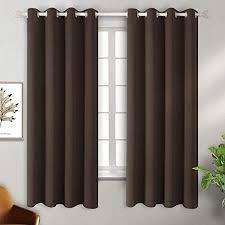 bgment blickdichter vorhang verdunkelungsvorhänge blickdicht gardinen mit ösen für schlafzimmer wärmeschutz geräuschreduzierung 137 cm x 117 cm