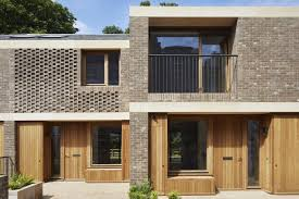 100 Contemporary Housing Morris Company Reveals Staggered Mews Housing For
