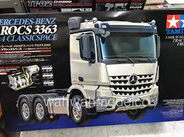 100 Rc Model Trucks Tamiya 56348 RC MercedesBenz Actros 3363 6x4 GigaSpace 114 Scale