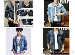 Denim Jacket Men Fashion Jeans Jackets Slim Fit Long Sleeve Vintage Mens And Coat High Quality Streetwear Cowboy Clothing M Xxxl Overcoat For Fur