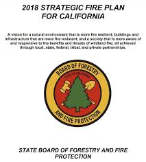 California Adopts New Fire Plan