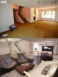 Craftsman Style Room Divider Columns Added To DIY Living Renovation