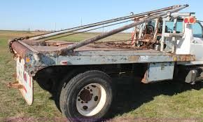 Gin Pole Truck Bed | Item H1565 | SOLD! April 30 Constructio... Winch Trucks For Sale Truck N Trailer Magazine 2007 Kenworth T800b Oil Field 183000 Miles Gin Pole Truck F250 67 Pinterest Southwest Rigging Equipment Gin Poles With A Twist Super Twin Steer Unloading Lufkin 640 Gearbox Part 2 Youtube Mini Jin For Hay Spear Spike W Bucket Derrick Digger Trailers Open Proposal On Improving And Regulating Oilfield Pole Safety Buffalo Road Imports Okosh P15 Twin Engine 8x8 Fire Crash Aframe Boom Vehicle Scavenge Huge Things 6 Steps Pictures