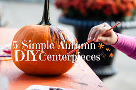 Gold Pumpkin Carriage Centerpiece by 5 Simple Autumn Diy Centerpieces Temple Square