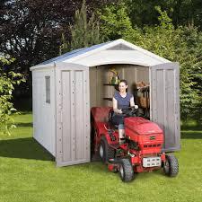 Keter Woodland High Storage Shed by Garden Shed Keter Factor 8 U0027 5