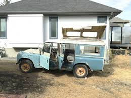 1966 Land Rover SIIA 109 Martin Walter Dormobie Camper Conversion