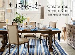 Pottery Barn Style Living Room Ideas by Dining Room Design Ideas U0026 Inspiration Pottery Barn