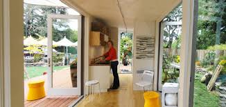 100 Off Grid Shipping Container Homes From The Home Front Tiny Cargo Container House Is Sunset