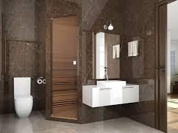 ideas to design a smaller bathroom