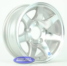 13 Inch Aluminum 7 Spoke Utility Or Boat Trailer Wheel 5 Bolt Allied Wheel Components Alinum Boat Trailer 15 Inch 5 Star Lug On 4 12 160211 Chevy Gmc Alcoa 16 X 6 8 Front Buy 245 Wheels A1 Truck Amazoncom Ion Alloy 171 Polished 105x1143mm Kmc Street Sport And Offroad Wheels For Most Applications China Xxr Rims Replica In 15inch Hsp 4p Onroad Drift Spoke Wheelsrims 1058 For Rc 110 13850sp51s Top P51d Mustang Tires Robart Porsche 20 991 Gts Turbo S Rims Alinum 991316234 Road Bike Wheelset Promo Sale Road Bicycle With