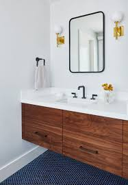 13 Incredible Mid-Century Modern Bathroom Ideas For A Unique Decor ... Small Mid Century Modern Bathroom Elegant Inspired 37 Amazing Midcentury Modern Bathrooms To Soak Your Nses Design Vanity Hd Shower Doors And Paint In Remodel Floor Tile Best Of Ideas For Best Mid Century Bathroom Style Project Sewn With Metro Curtain 74 Most Magic Transform On Interior